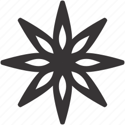 art, complex, decoration, geometry, ornament, snowflake, style icon