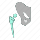 implant, medicine, people, tool icon