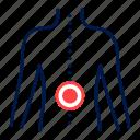 ache, back, orthopedics, pain icon
