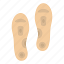 adhesive, aid, feet, medical, orthopedic insoles, shoe, support icon