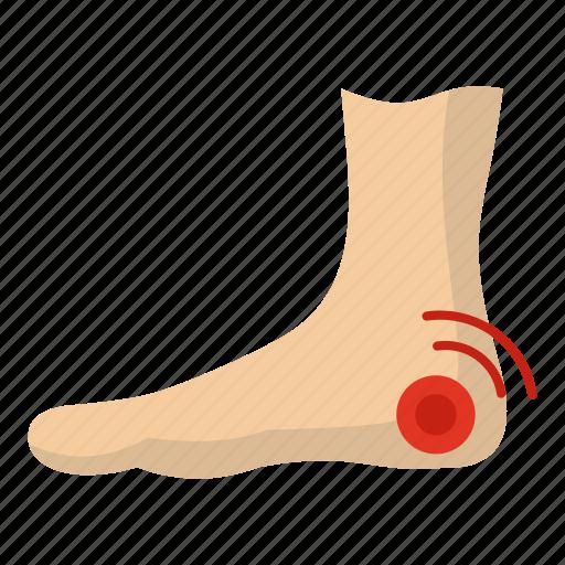 acupuncture, anatomy, bottom, foot, foot heel, heel, woman icon