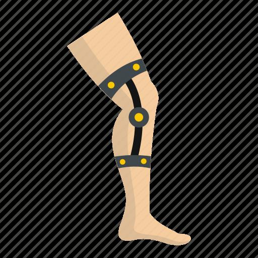 ankle, bandage, injury, orthopedic, recovery, retentive bandage icon