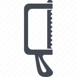 hacksaw, medical instrument, orthopedics, tool icon