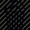 cinema, food, junk, popcorn icon