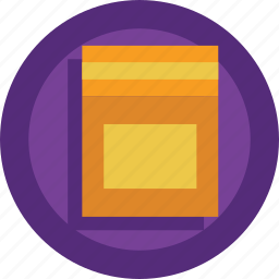 box, card, cardboard icon