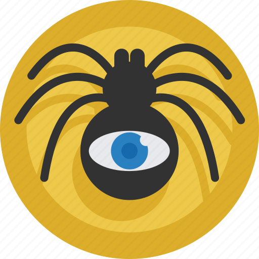 eye, internet, online, sem, seo, spider, web icon