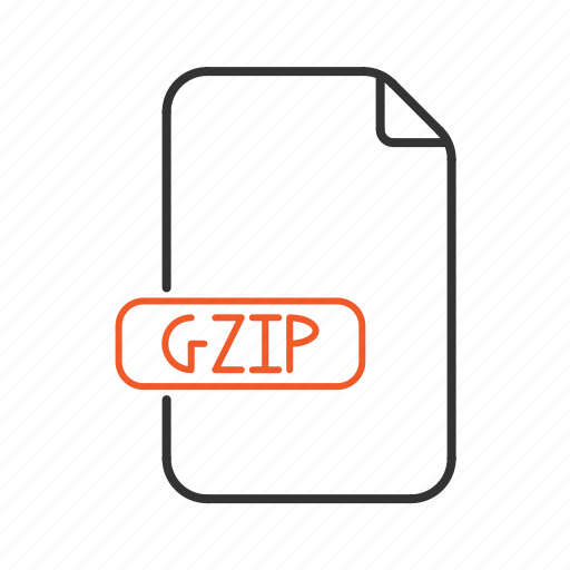 compressed, extension, file, gzip, type, zip icon