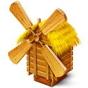 grist-mill, mill, windmill icon