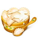 bowl, spoon icon
