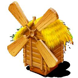 grist-mill, mill, windmill icon