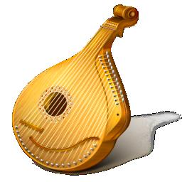 bandore, bandura, instrument, kobza, music, pandora icon