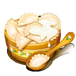 bowl, spoon icon