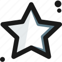 bright, feature, goal, good, space, star, wish icon