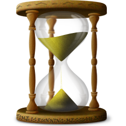 hourglass, sandclock, time, wait icon