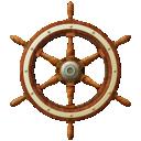ship, wheel
