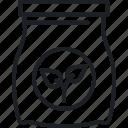 boot, fertilizer, job, outdoor icon