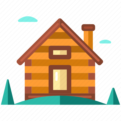 cabin, cottage, countryside, home, house, lodge, shack icon
