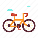 bicycle, bike, mountain, mountain bike, outdoor, sport, travel icon