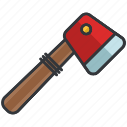 axe, essentials, maintenance, outdoor, tool icon