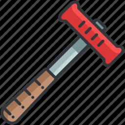 essentials, hammer, maintenance, outdoor, tool icon