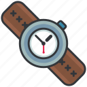 clock, essentials, outdoor, time, watch icon