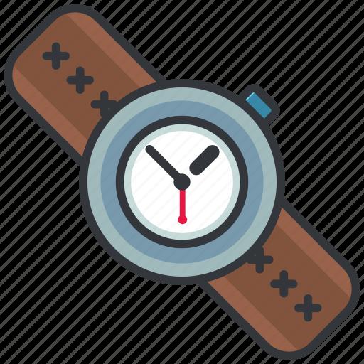 clock, essentials, outdoor, time, watch icon