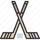 game, hockey, ice, play, sport, stick icon