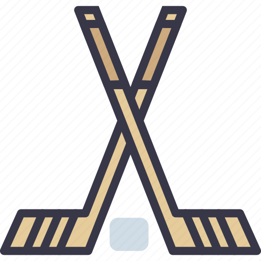 game, hockey, ice, play, sport, stick icon