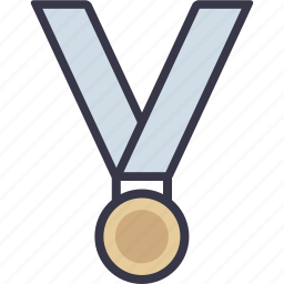 game, medal, prise, sport, sports, win, winner icon