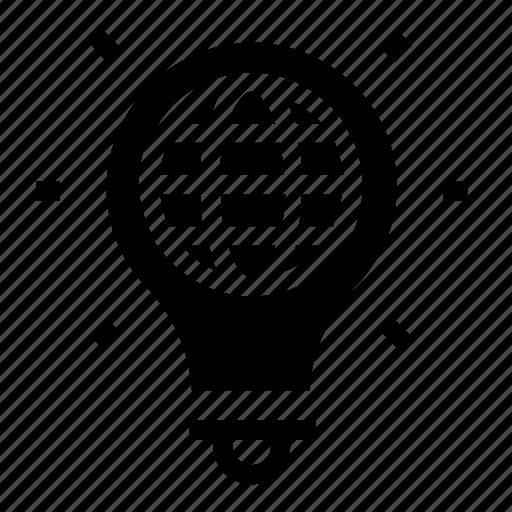 global, light icon