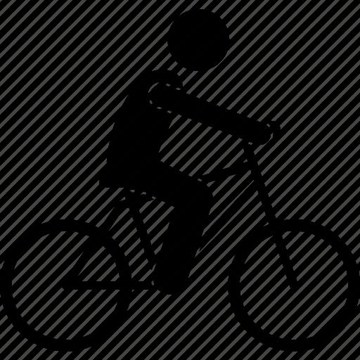bicycle, bike, biking, cycle, cycling, cyclist, riding icon