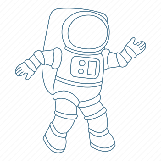 astronaut, galaxy, moon, space, spaceman, suit, walk icon