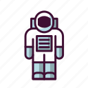 astronaut, galaxy, outer space, space, universe