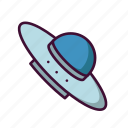 galaxy, outer space, space, ufo, universe