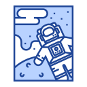astronaut, cosmonaut, exploration, nasa, space, spaceman, spacesuit icon