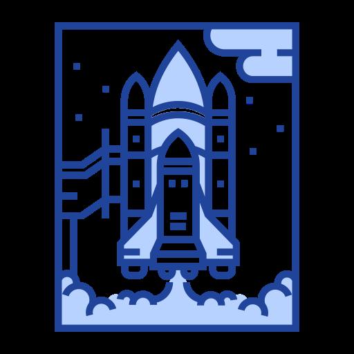 astronaut, exploration, launch, rocket, science, space shuttle, spaceship icon