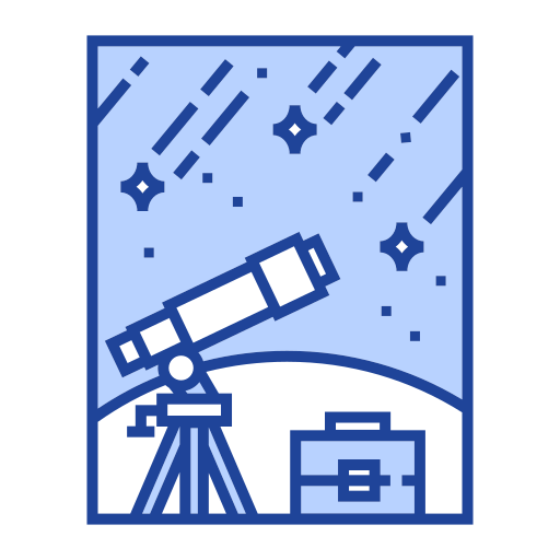 astronomy, discovery, observation, planetarium, science, space, telescope icon