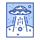 alien, invaders, saucer, spaceship, ufo, unidentified, vessel icon