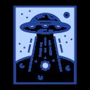 unidentified, ufo, alien, invaders, vessel, spaceship, saucer icon