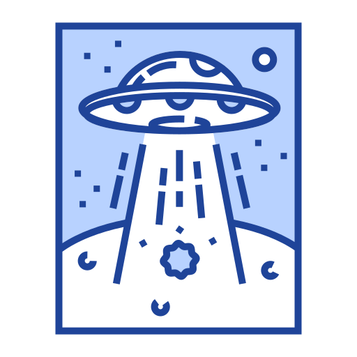 alien, invaders, saucer, spaceship, ufo, unidentified, vessel icon