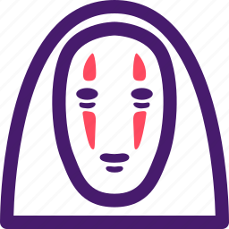 halloween, helloween, mask, october, spirited away icon