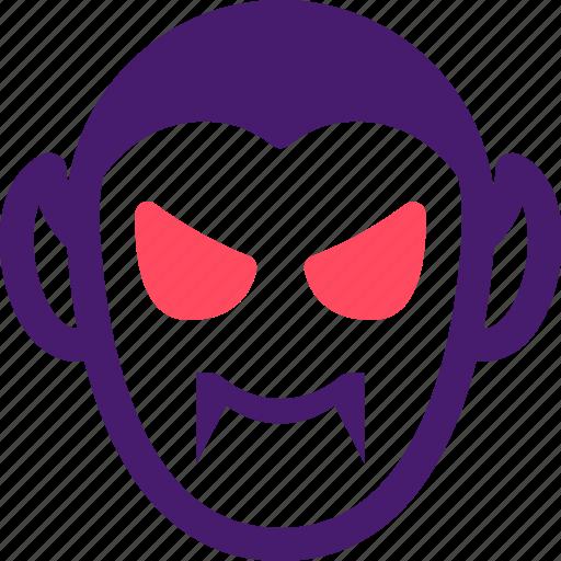 dracula, halloween, helloween, october, teeth icon