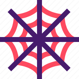 halloween, helloween, october, spider web, web icon