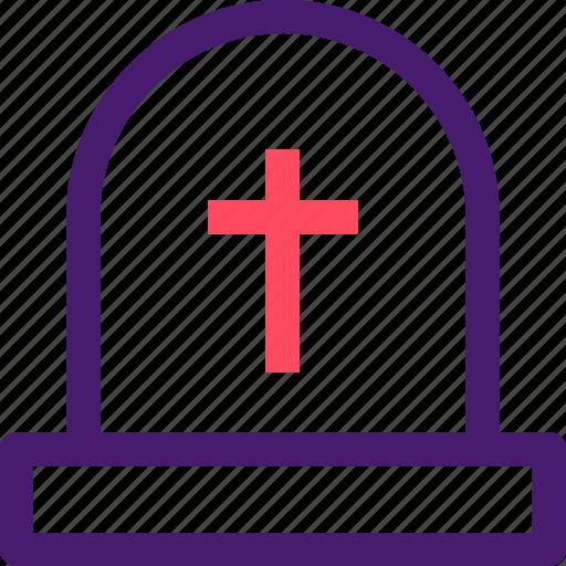 christian, cross, graveyard, halloween, helloween, october icon