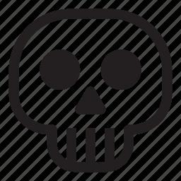 death, halloween, helloween, october, skull icon