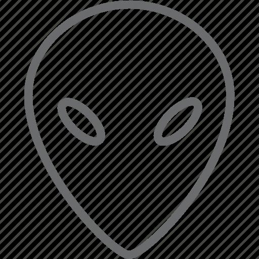 alien, ufo icon