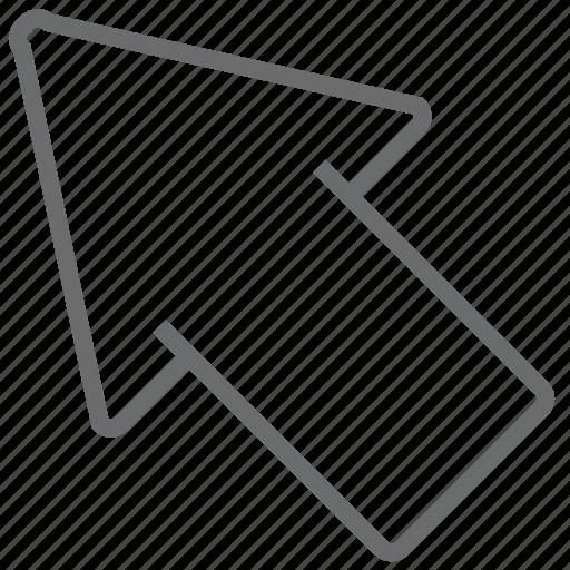 Arrow, left, top icon - Download on Iconfinder on Iconfinder