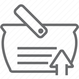 bag, up icon
