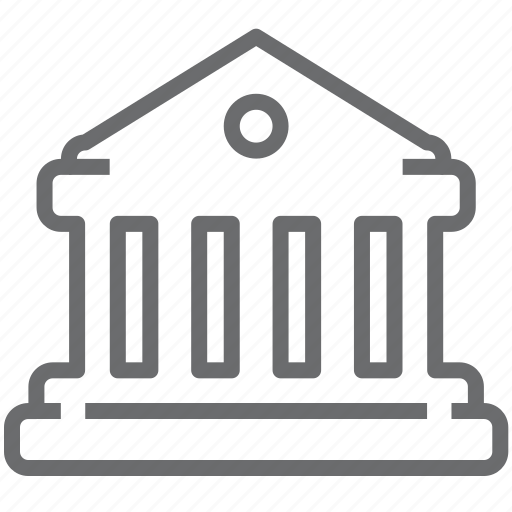 bank, financial, payment icon