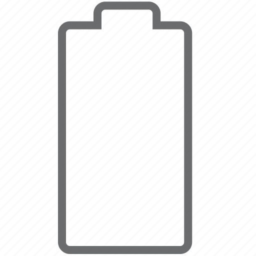 battery, empty icon